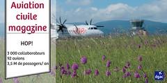HOP! chiffres (dgac_fr) Tags: aviation magazine manifestations ariennes biocarburant aroport surt passager