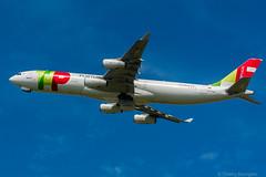 [ORY] TAP Airbus A340-312 _ CS-TOB (thibou1) Tags: thierrybourgain ory lfpo orly spotting aircraft airplane nikon d7100 tamron sigma tap airbus airbusa340 a340 a340312 cstob takeoff dcollage