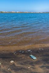 La sandalia olvidada (6/365) (pedrobueno_cruz) Tags: sky colors sea beach water blue clouds ensenada baja california mxico day explored nikon d7200 365 landscape colores sand