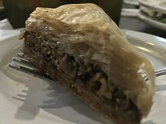 Baklava (austin.restaurants) Tags: ios10 iphone6 restaurantalmarahmediterraneancuisine dessert food public locationcedarparktx 2016 september 29th 160929 thursday september29th img5417 baklava