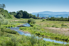 Summer, River Rench & Stadelhofen, Schwarzwald, Germany. (jgsnow) Tags: landscape summer germany blackforest renchtal rench