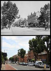Finchley Road (Tetramesh) Tags: tetramesh london england britain greatbritain gb unitedkingdom uk londr   londres londn londen lontoo  londain londra londone londyn llundain londrez loundres londono londinium llondon lunnainn lndra hampstead localhistory nowandthen thenandnow pastandpresent oldlondon lostlondon presentandpast oldhampstead hampsteadpastandpresent hampsteadnowandthen hampsteadthenandnow londonpast londonboroughofcamden camden socialhistory uklocalhistory londonlocalhistory finchleyroad nw6 nw3 a41 finchleyroadnt lyncroftgardens