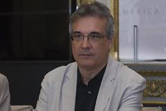 Vicente Cervera, presidente de la Asociacion de Hispanoamericanistas de Espana (Casa de Amrica) Tags: poesia guaraguao revista cultura mariocampaa antoniogamoneda madrid espaa latinoamerica iberoamerica americalatina casaamerica casamerica casadeamerica poetas escritores