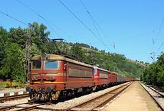 Freight Variety (Krali Mirko) Tags: bdz train locomotive wagon railway railroad bulgaria      freight cargo electric skoda 43 43542 mezdra