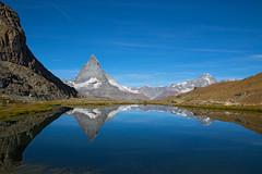 Matterhorn reflection (meinanderm) Tags: matterhorn zermatt switzerland schweiz reflection spiegelung lake see