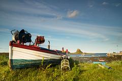 Lindisfarne Harbour (aljones27) Tags: lindisfarne harbour boat boats hut huts