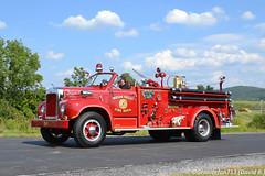 1955 Mack B-Model Fire Truck (Trucks, Buses, & Trains by granitefan713) Tags: mack macktruck antiquetruck classictruck vintage oldschool oldtruck truckshow mackbmodel bmodelmack firetruck pumper fireapparatus antiquefiretruck