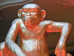 golden monkey (kenjet) Tags: lv vegas nevada lasvegas 2016 yearofthemonkey chinesenewyear monkey gold golden statue animal