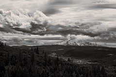 disappearing Hood (rovingmagpie) Tags: oregon rowena mccallpoint tommccallpreserve mounthood mthood weather clouds touregon summer2016