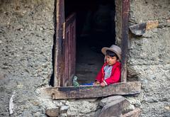 A little rest (pietkagab) Tags: boy rest window watching house village quechua wall grey scene human portrait peru pietkagab photography piotrgaborek pentax pentaxk5ii travel trip tourism trek hike santacruztrail culture adventure southamerica huascaran