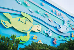 Beyond the Sea (dolewhip) Tags: disney wdw waltdisneyworld epcot theseaswithnemoandfriends findingnemo crush dory nemo marlin futureworld