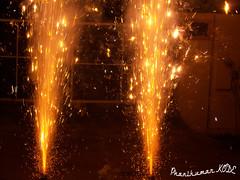 Diwali (Phani Kumar Kode) Tags: india macro colors fireworks outdoor colorfull diwali sparks crackers festivaloflights beautifull deepavali vijayawada