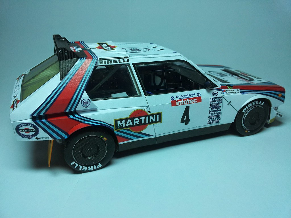 The world 39 s newest photos of lancia and paper flickr for Papercraft lancia