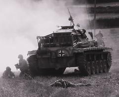 Captured (Fleet flyer) Tags: soldier war german american ww2 battlefield armour reenactment americansoldier worldwartwo warfare armouredvehicle cosbyvictoryshow