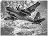P2 to the Rescue (highmountain4) Tags: sky bw foothills monochrome plane fire flying olympus sierras firefighting tanker wildfire airtanker em1 aricraft retardant mirrorless