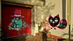 Bu the Warrior / Nijverheidsstraat - 15 oktober 2014 (Ferdinand 'Ferre' Feys) Tags: streetart graffiti belgium belgique bue belgi urbanart graff ghent gent gand graffitiart urbex artdelarue urbanarte buethewarrior