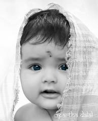 Angel Spriha (Partha Dalal) Tags: blue baby cute love girl beautiful beauty angel looking bright background lovely bengal partha bankura kotalpur kotulpur sribishnustudiowebscom sribishnustudio parthadalal