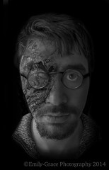 The Science Professor (Emily Grace Photography) Tags: portrait blackandwhite white black male photomanipulation photoshop project beard photography glasses nikon science photographic burnt freak portraiture photomontage professor diaries emilygracephotography nikond7100 thefreakdiaries