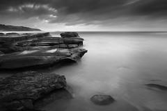 Risky Business (Sean Barlow) Tags: blackandwhite seascape sunrise soldiersbeach centralcoastnsw