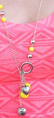Sunset Sightings Yellow Necklace K1 P2910-3
