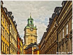 SUECIA  Estocolmo STORKYRKAN  C.M. (Cesalf) Tags: estocolmo paisajeurbano nwm