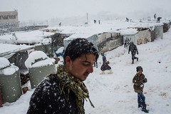 Surviving the Storm (UNHCR) Tags: winter lebanon snow storm cold weather children exterior refugees middleeast teenagers help aid syria protection assistance makeshift mena unhcr harsh settlement huda syrian zina zahle livingconditions campview urbanrefugees unrefugeeagency unitednationsrefugeeagency unitednationshighcommissionerforrefugees unhighcommissionerforrefugees syrianrefugees