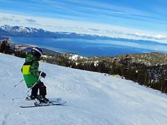 Max Ski (benjaminfish) Tags: california lake snow ski max january tahoe heavenly 2015