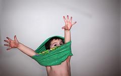 {julian 365} Day 209 - Ummm, a little help please! (citygirlny10305) Tags: boy portrait cute fun hands toddler funny child reaching flash fingers documentary tshirt help peeking comical 365project canon5dmarkii