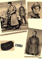 Kleppermode-1950 (dykthom1000) Tags: raincoat 1950 klepper regenmantel kleppermantel kleppermode