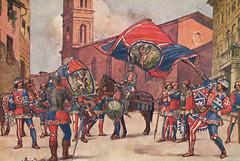 Comparsa della Contrada della Pantera (Il Tesoro di Siena) Tags: italy italia tuscany siena toscana