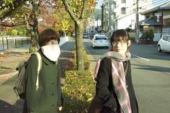 (tenpadego) Tags: autumn portrait girl japan kyoto