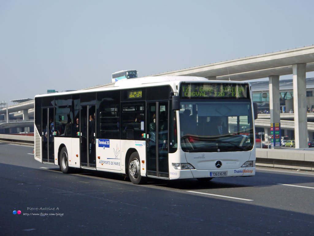 The world 39 s best photos of autobus and cdg flickr hive mind - Bus roissy paris ...