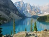 breathtaking Moraine Lake - Valley of the Ten Peaks (karma (Karen)) Tags: trees canada mountains topf25 rocks shadows lakes pines alberta glaciers 4summer aweinspiring eticket morainelake canadianrockies banffnp 50favs valleyofthe10peaks cmwdblue canadanationalparks internationalmountainday