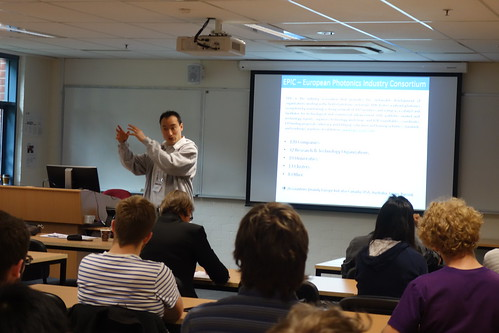 Presentation at ANU Australia National University