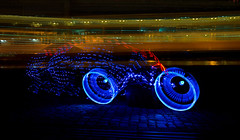 TronoBike (JanLeonardo - www.light-painting.eu) Tags: leica light lightpainting art canon photography nikon performance pro manfrotto lenovo lightart novoflex lightdrawing lightwriting