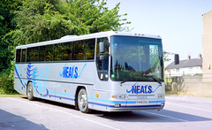 Neals V445EAL Felixstowe June 2000 (The original SimonB) Tags: film buses june suffolk 2000 transport scanned