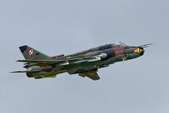 Sukhoi Su-22M4 - 20 (NickJ 1972) Tags: aviation airshow raf fairford 2014 riat fitter sukhoi royalinternationalairtattoo su22 3612