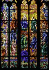 Vitral en la Catedral de San Vito (jflores_cl) Tags: europa prague praha praga viajes turismo vacaciones repúblicacheca 2011