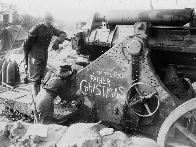 Natale in trincea