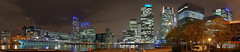 IMGP8085-8097 (mattbuck4950) Tags: november england london water night boats europe unitedkingdom panoramas canals canarywharf kismet 2014 1canadasquare 1churchillplace 25bankstreet citigroupcentre 40bankstreet 10upperbankstreet panpeninsula compositeimages citycanal woodwharf southquayplaza thamesquay 25churchillplace camerapentaxk50 10churchillplace
