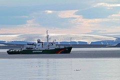 83 4 IMG_2923 Greenpeace Ship cruising in Front of Friesland (Svalbard) (onurbwa51) Tags: ship control watching cruising svalbard survey spitsbergen icecap takingcare greepeace eiskappe hinlopenstreet wahlbergen