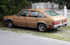 1980 Chevrolet Citation (vetaturfumare - thanks for 3 MILLION views!!!) Tags: brown chevrolet junk rust pennsylvania bowtie x longisland chevy hatchback citation skrotbil xcar importfighter