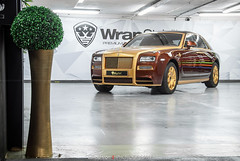 Rolls-Royce Ghost Mansory Limited Edition 1/1 (Lukas Hron Photography) Tags: gold with ghost rollsroyce 11 24 limited edition carat mansory