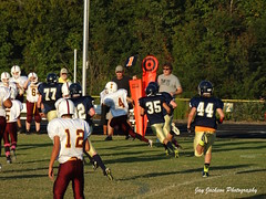 Running (AppStateJay) Tags: school sport football nc action thomas sony running classical jefferson middle athlete academy bishop gryphons 2014 charterschool runningback mcguiness bishopmcginnis tjca dschx300 sonydschx300 thomasjeffersonclassicalacademy