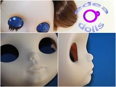 Proceso custom n 17. Aroa Manuela. (edea44) Tags: ooak carving blythe custom tbl edea edeadolls