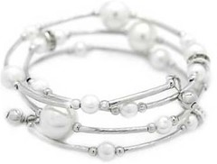 5th Avenue White Bracelet P9409A-4