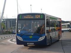 27689 - CN60CVG - Newport bus station - 8 August 2013 (Simon's Bus Photostream) Tags: newport 27689 stagecoachsouthwales cn60cvg