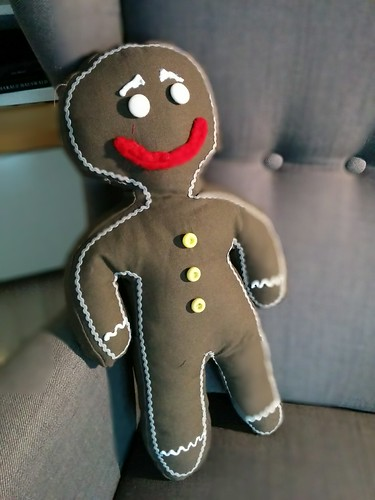 """Gingerbread Man Kissen • <a style=""""font-size:0.8em;"""" href=""""http://www.flickr.com/photos/92578240@N08/16036486506/"""" target=""""_blank"""">View on Flickr</a>"""