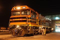 P2506 stabled at Forrestfield 28-3-12 (Aussie foamer) Tags: train railway locomotive ge arg westernaustralia westrail ugl forrestfield p2006 pclass goninan p2506