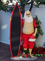 Merry Christmas Dudes ! (k4eyv) Tags: california christmas santaclaus 2013 lagunabeachcalifornia soocjpeg olympusomde5 olympus1250mm43lens